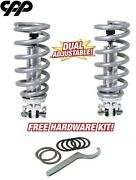 55-57 Chevy Belair Coilover Conversion Kit Double Adjustable Coil Over 350lbs