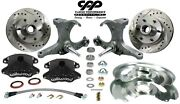1971-72 Chevy C10 Gmc Truck D52 Wilwood Disc Brake Kit 6 Lug Stock Spindle
