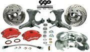 1973-87 Chevy C10 Gmc Truck D52 Wilwood Disc Brake Kit 6 Lug Stock Spindle