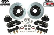1968-74 Chevy Ii Nova X-body Front 14 6 Piston Big Brake Disc Conversion Kit