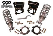 1963-72 Chevy C10 Pickup Front Viking Coil Over Lowering / Drop Conversion Kit