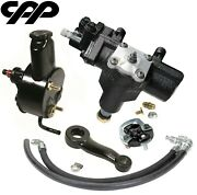 1970 70 Chevy Chevelle Sbc Power Steering Gearbox Conversion Kit 283 327 350