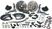 68 69 70 71 72 73 Ford Mustang Complete Front Disc Brake Kit Manual Master