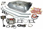 1957 Chevy Belair Fitech 30003 Go Street 400 Efi Fuel Injection Conversion Kit