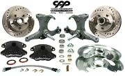 1973-87 Chevy C10 Gmc Truck D52 Wilwood Disc Brake Conversion Kit Stock Spindle
