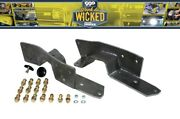 1963-1972 Chevy C10 C-10 Gmc Truck Rear Frame C Notch Kit Bolt In Week To Wicked