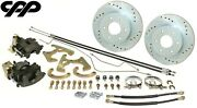 1967-72 Chevy C10 Truck 6 Lug 6x5.5 Bolt Pattern Rear Disc Brake Conversion Kit