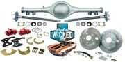 70-81 Chevy Camaro Currie 9 Crate Rearend + 12 Rotor Disc Brake Conversion Kit