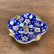 Vintage Hand-painted Purse / Pocket Personal Ashtray 3 Made In Japan