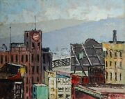 Harry L. Hickman View From Ymca Window C1940 Pittsburgh, Pa