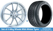 Bola Winter Alloy Wheels And Snow Tyres 19 For Jaguar F-pace 16-20
