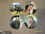 Collector Plate Lot Elvis Limited Editions Delphi Lot Of 4 Looking At A Legend