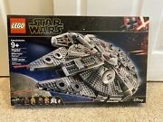 Lego 75257 Star Wars Rise Of Skywalker Millennium Falcon Kit With Minifigures