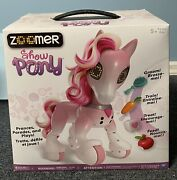 Zoomer Show Pony With Lights Sounds And Interactive Movement Pink Nib Sealed