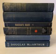Lot Of 6 Vintage Old Rare Antique Books - Mixed Color - Screamin Deal -kn8