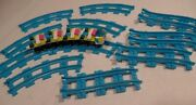 Lego Friends Blue Roller Coaster Track And Car Carts Parts 41130