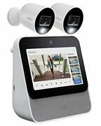 Home Center 64gb With 2 X 1080p Hd Smart Indoor/outdoor Wi-fi Cameras With