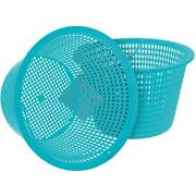 2 Swimming Pool Plastic Weighted Skimmer Replacement Baskets, Skim Leaves Debris