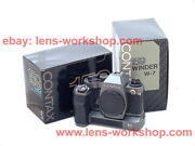 Contax 159mm W-7 Winder 10th Anniversary Edition Boxed