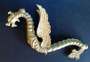 Griffin Dragon Solid Brass Sconce Or Fixture Arm
