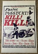 Faster Pussycat Kill Kill 11x17 Mp1913 Movie Poster Tura Santana 1965