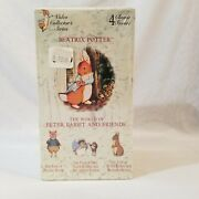 Beatrix Potter-the World Of Peter Rabbit And Friends-4 Videos Collectors Series