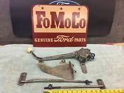 1950and039s 1960and039s Hurst Duel Pattern With Syncro Loc Shifter Ford T-bird Y-block 3sp