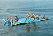Huge 7 Person Floating Oasis Foam Raft Lake Sea Water Pad Mat - 15and039 X 6and039 1500 L