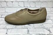 Womens Easy Spirit Tan Anti-gravity Leather Shoes Size 10 Light Brown