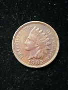 1902 Indian Head Small Cent 1c