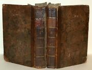 The Naval And Military Of The Wars Of England, 2 Vols Only, C1795 Hardback