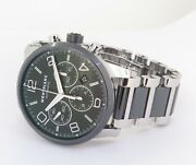 .auth Timewalker Auto Chronograph 43mm Steel Watch Box + Papers 7141