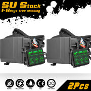 2 X 6-gang Switch Panel Relay Circuit Control System For Led Work Light Bar Pods