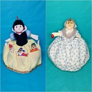 Topsy Turvey 8½ Snow White And The Seven Dwarfs Doll Wicked Witch Tell A Story