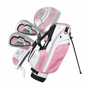 Ray Cook Golf Manta Ray 6 Piece Girls Junior Set With Bag Ages 6-8 Pink - New