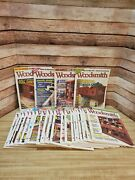 Woodsmith Magazine  Lot Of 24 Issues  2006 - 2010. Issue 167-189 Plus 1