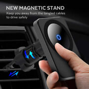 15w Car Vent Mount Magnetic Safe Wireless Charger For Iphone 12 Pro Max Mini