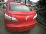 Trunk/hatch/tailgate Sedan Without Lock Cylinder Fits 10-13 Mazda 3 7996404