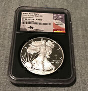 2020 W V75 Silver Eagle Wwii Ngc Pf70 Ucam Mercanti Signed First Release Bc
