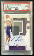 2019-20 National Treasures Kyle Guy Rpa Rc Rookie Patch Auto 15/99 Psa 9