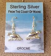 Sterling Silver Harbor Seal Earrings - If You Liked Andre The Seal