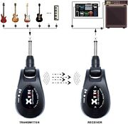 Xvive Black Wireless Guitar System Transmitter And Receiver Xu2bk Usb Charge
