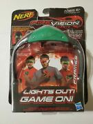 Nerf Firevision Sports Frames Green Activate Ultra-bright Glowing Balls Glasses
