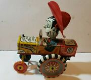 Marx Milton Berle Wind Up Whirl And Twirl Tin Lithograph Toy