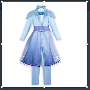 Disney Store Frozen 2 Elsa Costume Dress - 7/8 - New With Tag