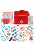 Doctor Kit Toy Realistic Tools And Medical Bag