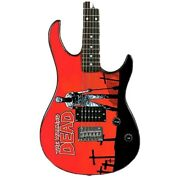 Peavey The Walking Dead Grave Digger Guitar With Case And Strap