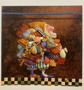 Hold To The Rod With Remarque Andnbspprint- James Christensen Signed And Numbered