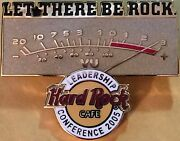 Hard Cafe Hrc 2005 Gm Conference Leadership Staff Let There Be Rock Pin 27561