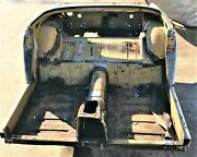 Used Oem .. And03972 Mg Midget Rear Frame Clip W/ Round Wheel Arches And Floors H875